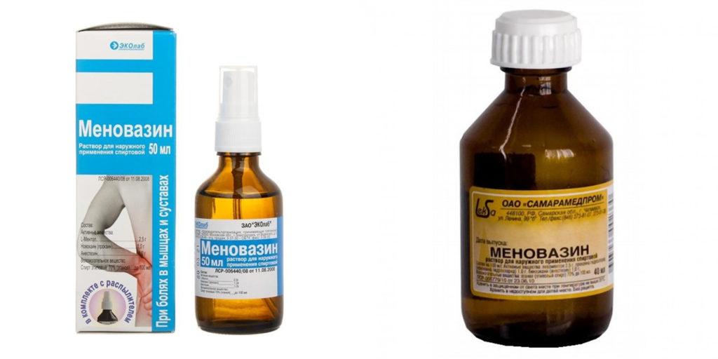 Меновазин: недорогой и эффективный препарат для лечения болей