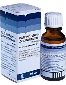 Валокордин-доксиламин − инструкция по применению, отзывы, аналоги, цена
