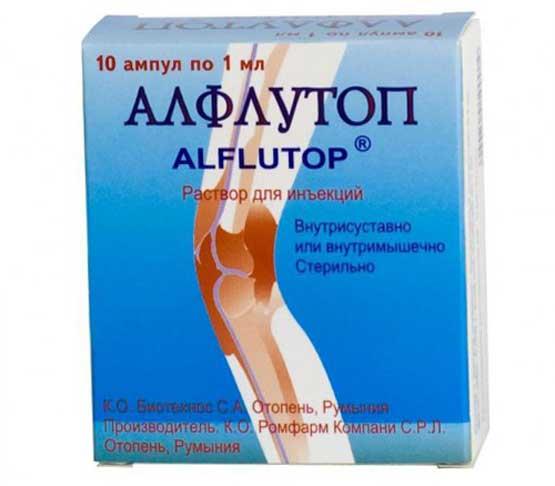 Алфлутоп — инструкция, состав препарата, показания и противопоказания, побочные действия