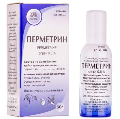 Правила использования препарата перметрин от вшей и гнид