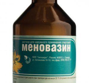 От чего помогает меновазин, и как его правильно применять?