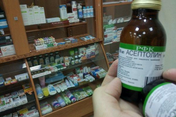 Асептолин можно ли пить внутрь. асептолин плюс — инструкция по применению. как принимать, курс приема и дозировка