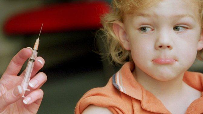 Возможные осложнения после прививки от полиомиелита у детей
