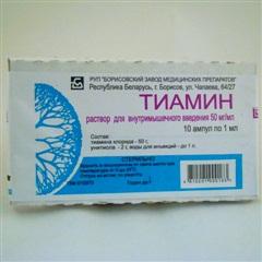Как правильно использовать таблетки тиамина?