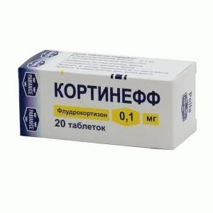 Кортинефф — инструкция по применению препарата и отзывы