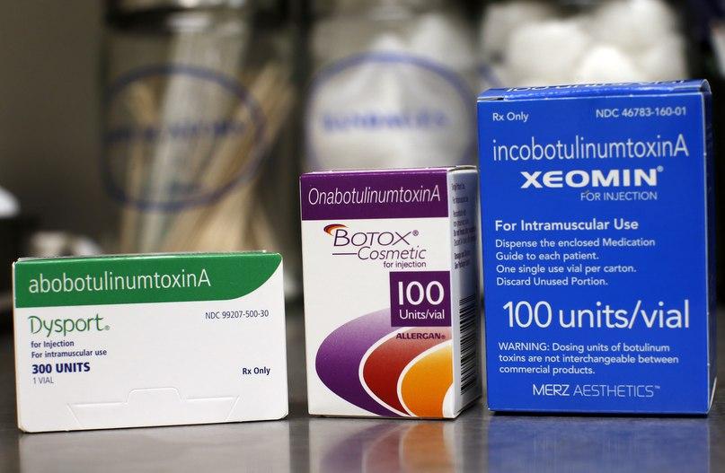 Сравнение ботулотоксинов: ботокс, диспорт, ксеомин, лантокс, нейронокс, релатокс