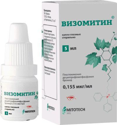 Визомитин (капли скулачева) отзывы