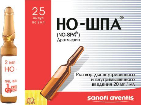 Но-шпа: описание таблеток и инструкция по применению