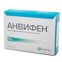 Анвифен - реальные отзывы принимавших, возможные побочные эффекты и аналоги