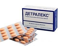 Детралекс: инструкция по применению, цена, аналоги, отзывы врачей