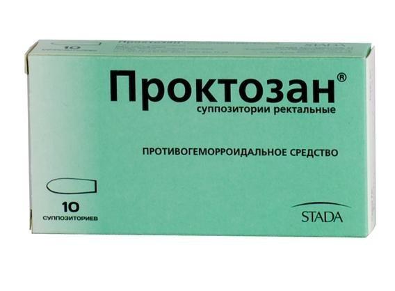 Проктозан – инструкция по применению, мазь, суппозитории, отзывы, цена
