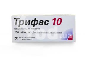 Показания к применению препарата трифас: состав, цены и аналоги