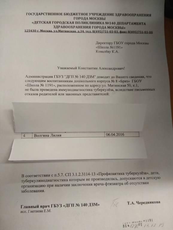 Отказ от манту и детский сад/школа - запись пользователя морозкина (morrozzova) в сообществе здоровье - от трех до шести лет в категории прививки, манту и проч - babyblog.ru