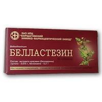 От чего помогают таблетки белластезин