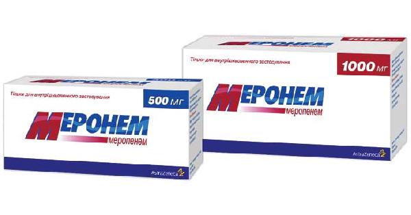 Меронем: инструкция к применению антибиотика