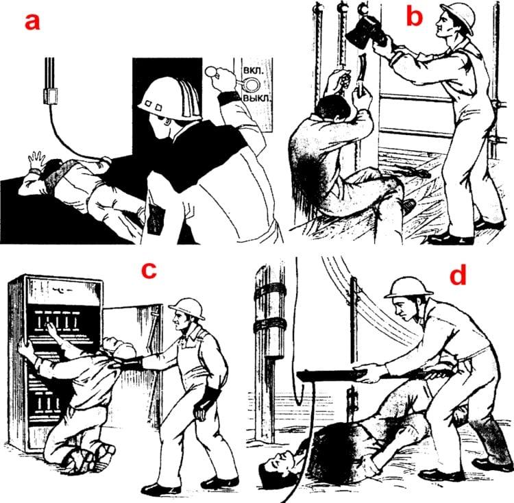 Последствия после удара током для человека