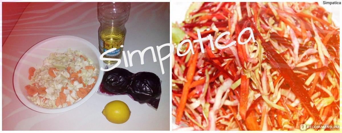 Салат для моментального похудения «щетка»