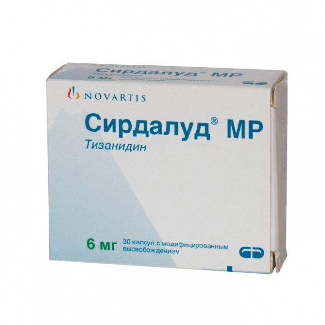 Инструкция по применению к лекарству тизанидин