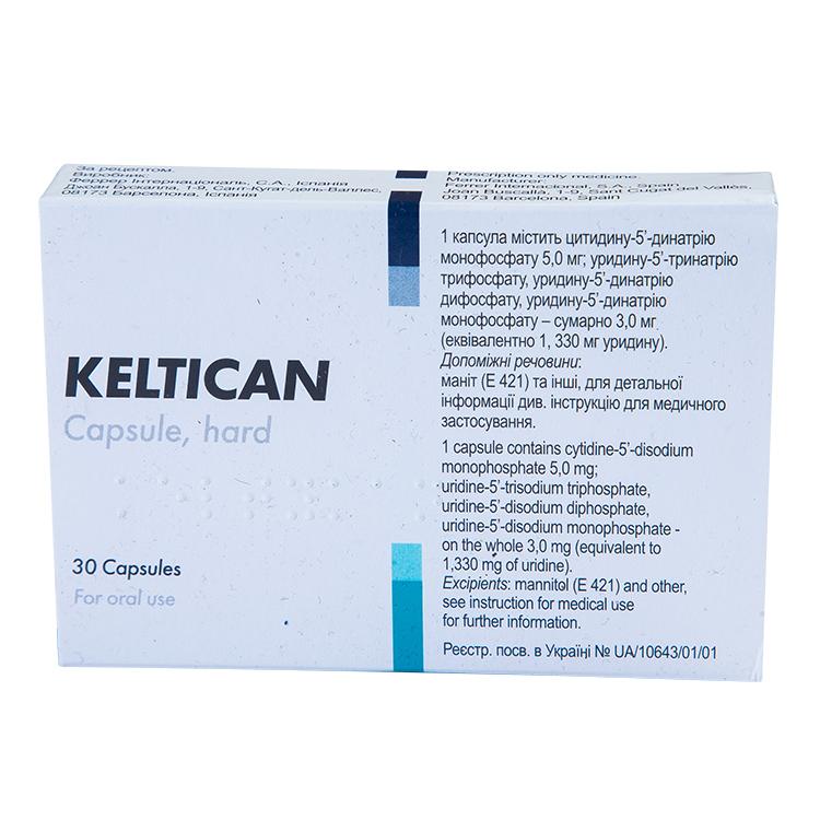 Келтикан: инструкция по применению, аналоги, цена, отзывы врачей и пациентов