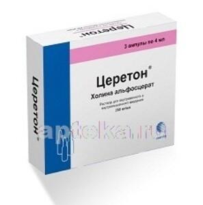 Лекарство церетон - состав, показания к приему, дозировка, побочные действия, аналоги и цена