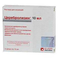 Как принимать препарата церебролизин в ампулах и таблетках - показания, дозировка для детей и взрослых, цена