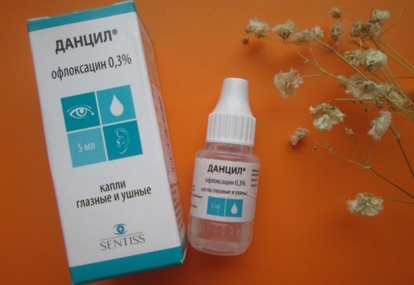 Глазные капли офлоксацин и их применение
