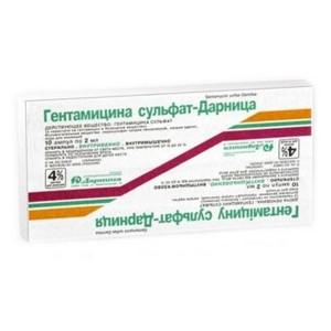 Гентамицин. гентамициновая мазь, капли и раствор для уколов - инструкция по препарату, применение, цена, формы выпуска, аналоги