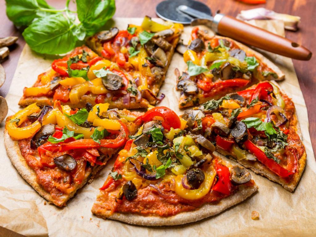 Вегетарианская пицца - очень вкусные, необычные рецепты блюда без мяса и колбасы