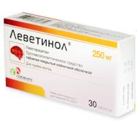 Препарат: леветирацетам в аптеках москвы