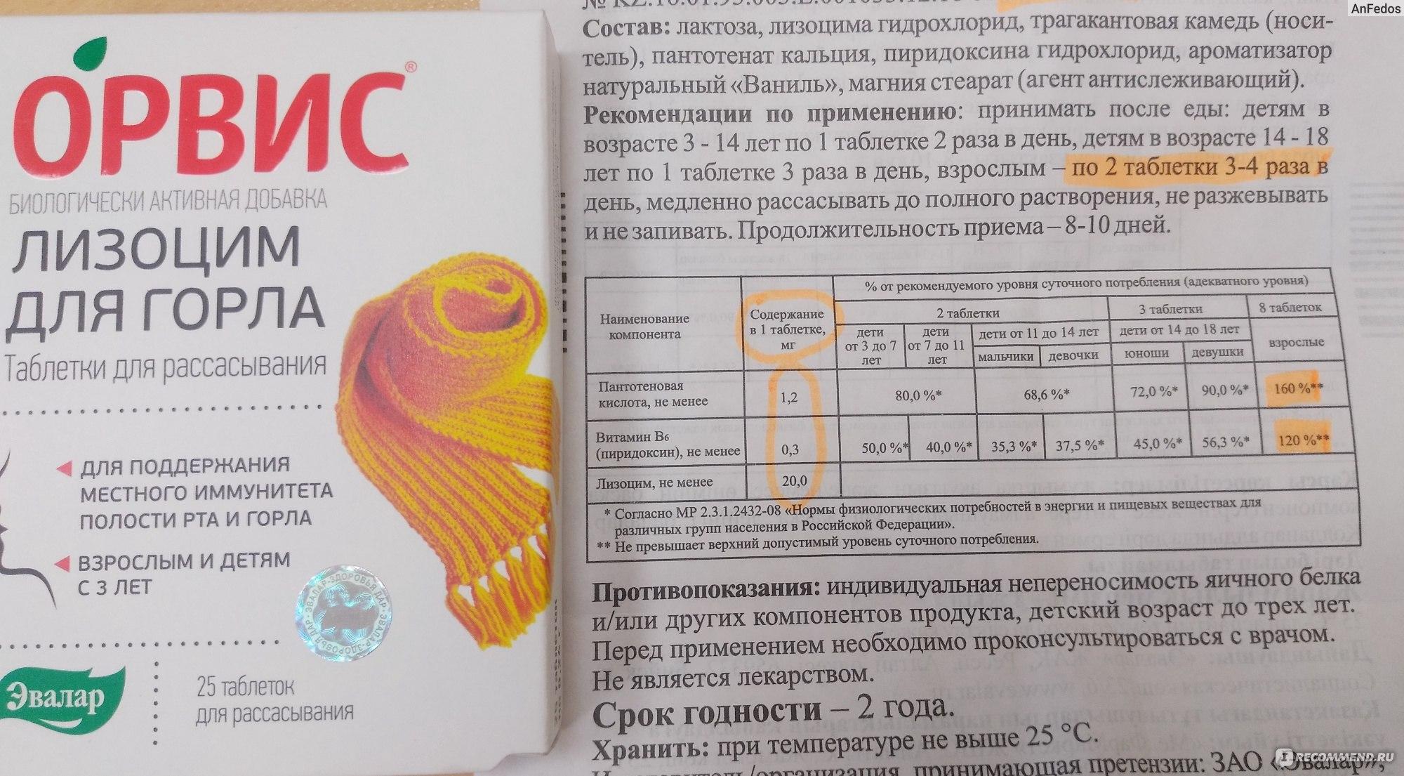 Лизобакт: инструкция, состав, показания, действие, отзывы и цены