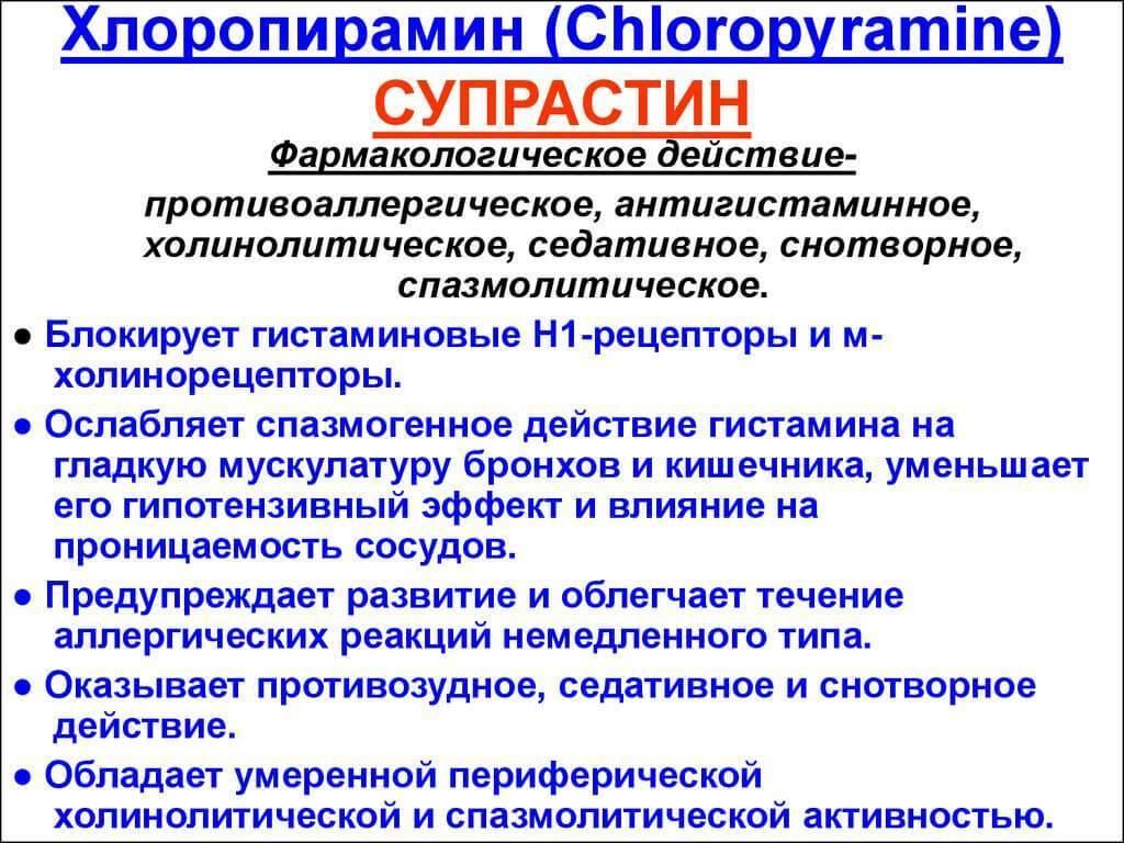 Антигистаминные препараты астматический бронхит