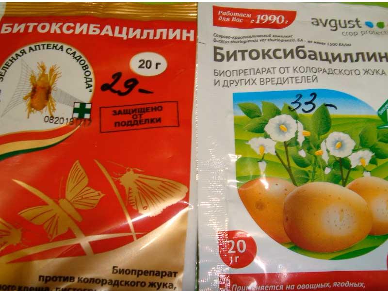 Битоксибациллин для картофеля от колорадского жука
