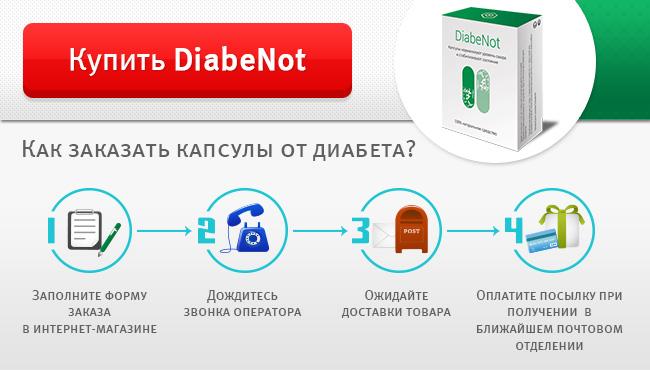 Diabenot – противодиабетические капсулы с натуральным составом