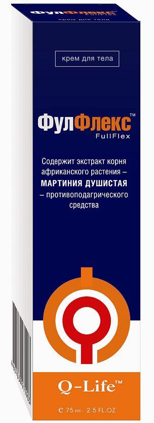 Крем фулфлекс: инструкция по применению, 75 мл с экстрактом мартинии душистой