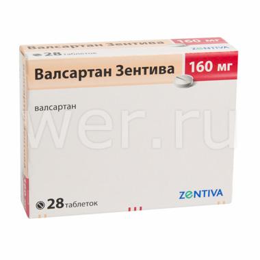 Таблетки 80 и 160 мгвалсартан: инструкция, отзывы и цены