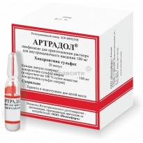 Инструкция по использованию лекарства артрадол: дозировка и способ применения