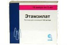 Этамзилат (таблетки) – инструкция по применению, цена, отзывы и аналоги
