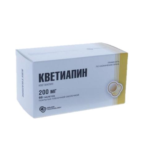 Препарат: кветиапин в аптеках москвы