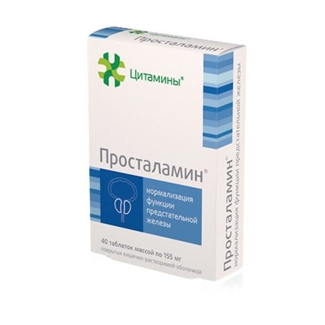 Таблетки «просталамин» — эффективное средство от простатита