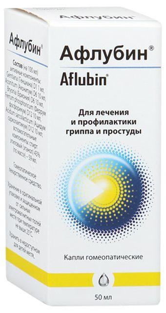 «афлубин» (капли): инструкция по применению, цена, аналоги и отзывы