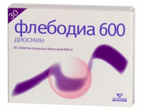Прием детралекса при варикозе