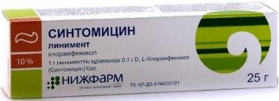 Синтомициновая мазь — инструкция по применению. от чего помогает синтомициновая мазь детям и взрослым