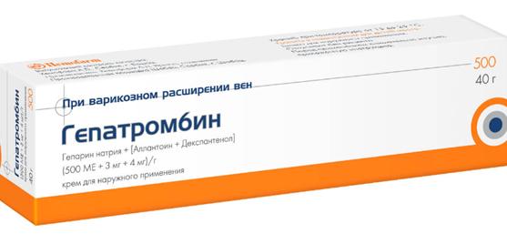 Гепатромбин г от геморроя — лечение с помощью свечей и мази