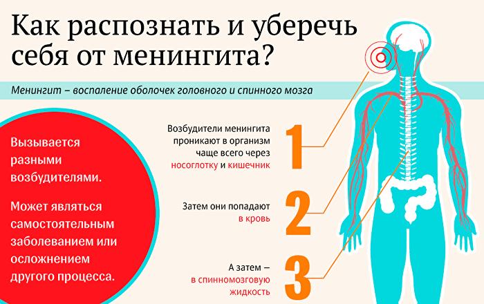 Как возникает менингит и от чего зависят разные проявления воспаления