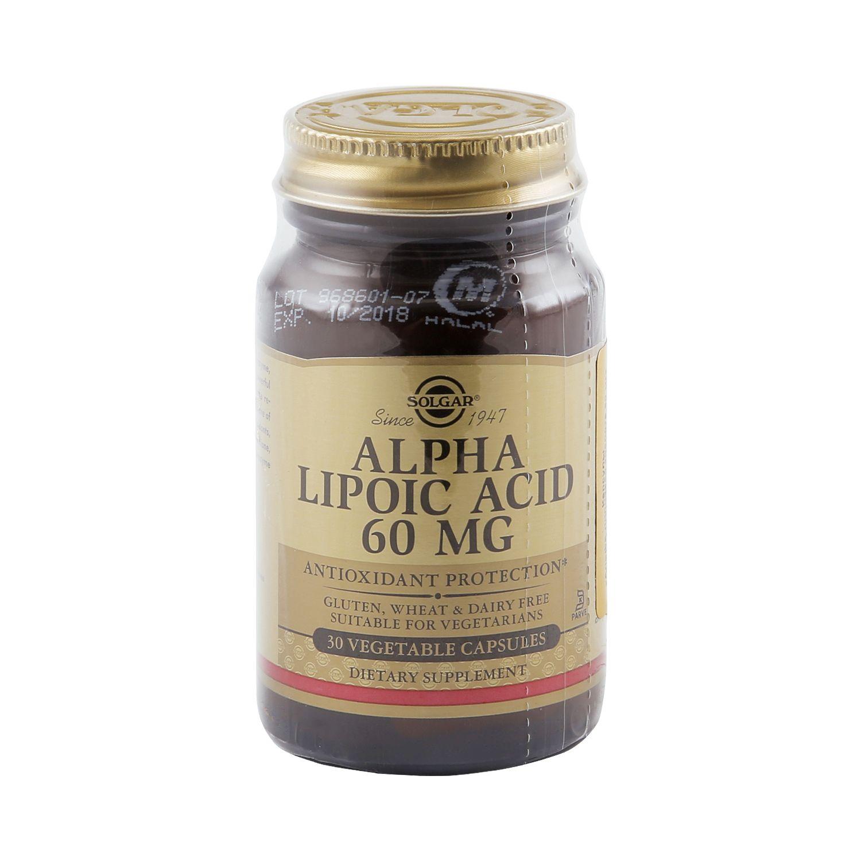 Альфа-липоевая кислота: показания к применению