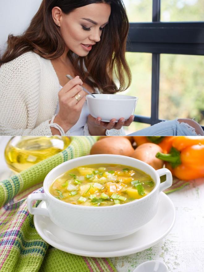 Диета суповая 8 дней