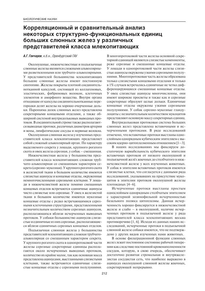 Анатомия слюны человека - информация: