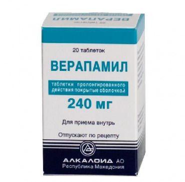 Таблетки и уколы верапамил: инструкция, отзывы и цены