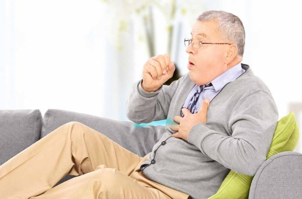 Заболевание легких у лежачего больного (застой, отек и воспаление)