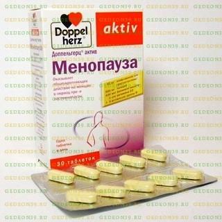 Применение препарата доппельгерц актив менопауза при климаксе